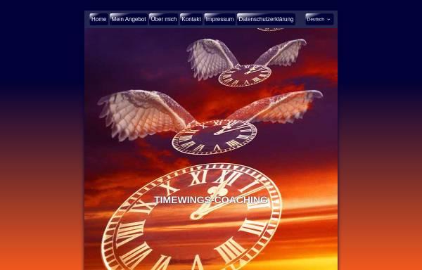 Vorschau von www.timewings-coaching.com, Timewings Coaching