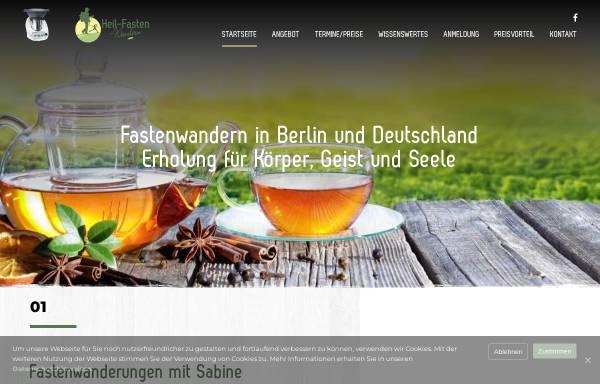 Vorschau von www.heil-fasten-wandern.de, bpV Health-GmbH