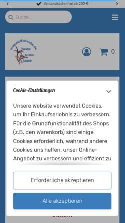 Vorschau der mobilen Webseite plankton-stube.de, Plankton-stube