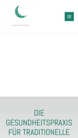 Vorschau der mobilen Webseite www.thaimoonspa.de, ThaiMoonSpa