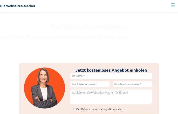 Vorschau von die-webseiten-macher.de, Die Webseiten-Macher