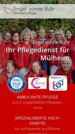 Vorschau der mobilen Webseite www.ruhr-engel.de, Engel vonne Ruhr