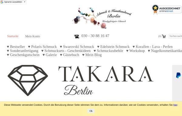 Vorschau von www.berlin-kunsthandwerk.de, Schmuck & Kunsthandwerk Berlin
