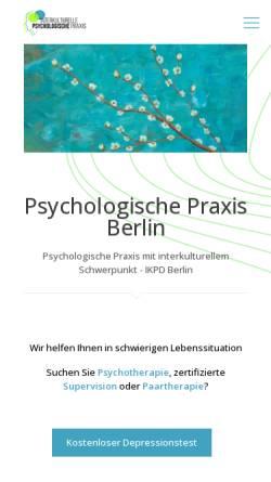 Vorschau der mobilen Webseite interkulturelle-psychologie-berlin.de, IKPD Berlin