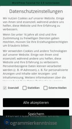 Vorschau der mobilen Webseite www.autaak.de, Autaak