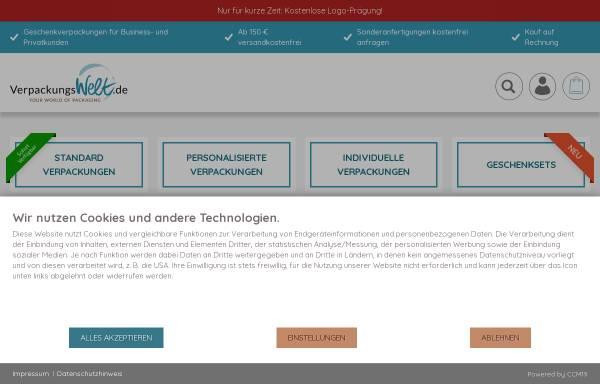 Vorschau von www.verpackungswelt.de, R&K Verpackungswelt GmbH