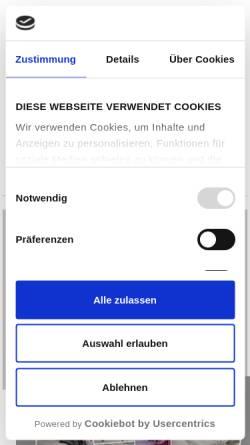 Vorschau der mobilen Webseite www.stoffkontor.de, Stoffkontor Jenny Brodersen GmbH