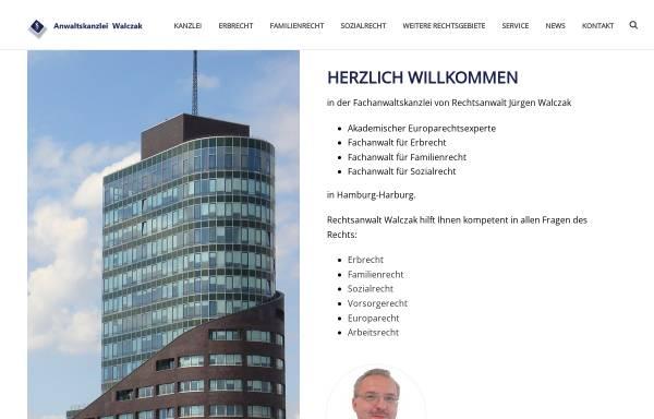 Vorschau von www.anwalt-walczak.de, Jürgen Walczak