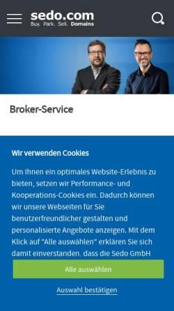 Vorschau der mobilen Webseite deine-jobberatung.de, Deine Jobberatung