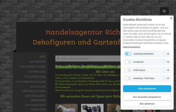 Vorschau von www.handelsagentur-richter.de, Richter Dekofiguren