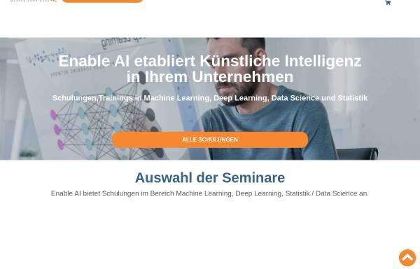 Vorschau von enable-ai.de, Enable AI
