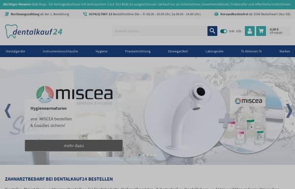 Vorschau von www.dentalkauf24.com, Dürrschmidt Dentalhandels GmbH