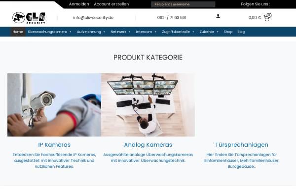 Vorschau von cls-security.de, CLS Security