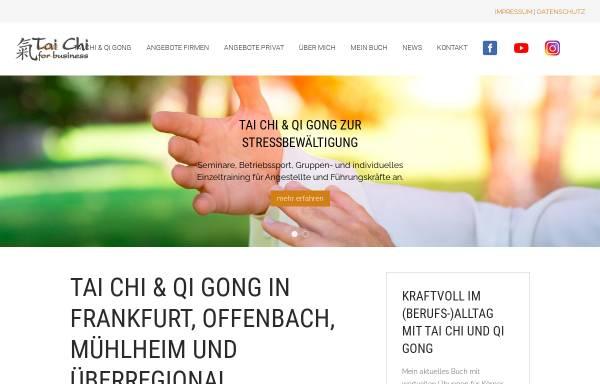 Vorschau von taichi-for-business.de, Tai Chi und Qi Gong