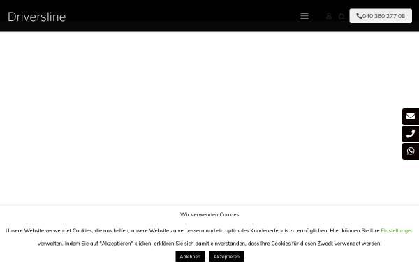 Vorschau von www.driversline.de, Driversline GmbH