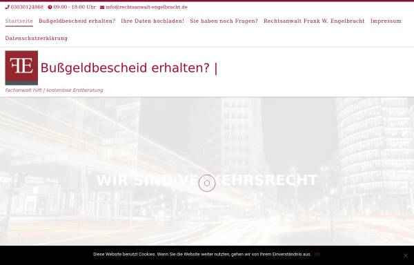 Vorschau von www.bussgeld.digital, Bußgeld Digital