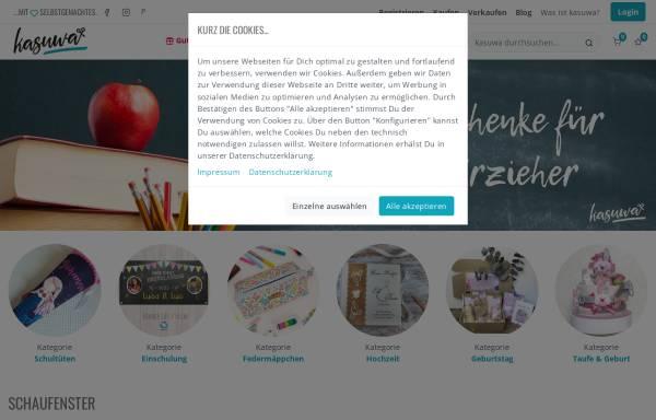 Vorschau von www.kasuwa.de, kasuwa GmbH