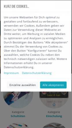 Vorschau der mobilen Webseite www.kasuwa.de, kasuwa GmbH