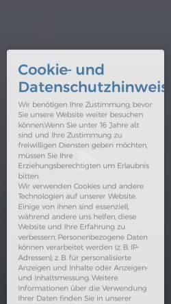 Vorschau der mobilen Webseite www.jansen-und-jansen.de, Jansen & Jansen UG ( haftungsbeschränkt)