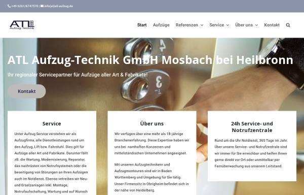 Vorschau von atl-aufzug.de, ATL-Aufzug-Technik
