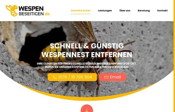 Vorschau von wespen-beseitigen.de, wespen-beseitigen
