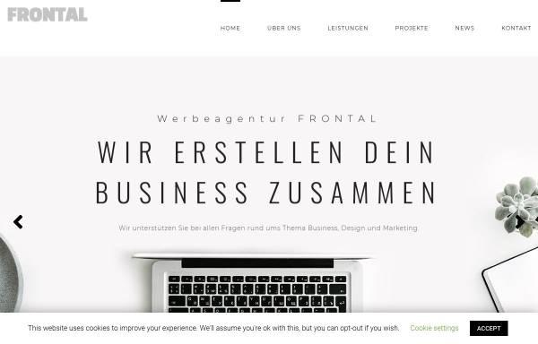 Vorschau von www.werbeagentur-frontal.de, Frontal Werbeagentur