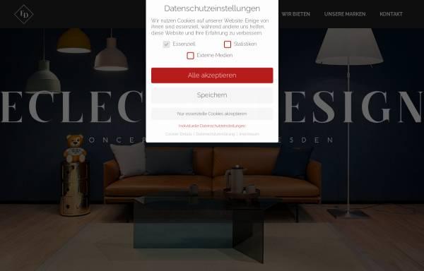 Vorschau von www.eclecticdesign.de, ECLECTIC DESIGN GmbH