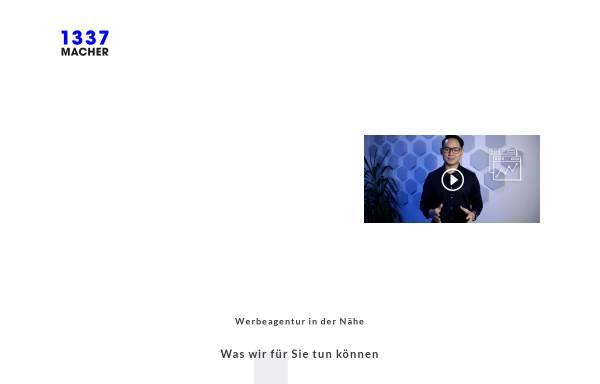 Vorschau von 1337macher.com, 1337macher Werbeagentur