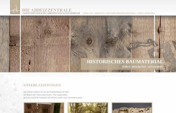 Vorschau von www.dieabbeizzentrale.de, Die Abbeizzentrale