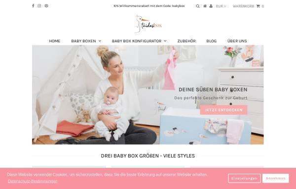 Vorschau von taidasbox.de, Taidas Box GmbH