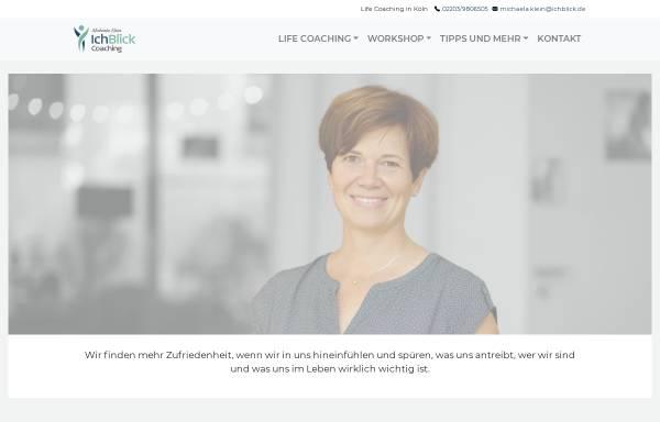 Vorschau von ichblick.de, IchBlick Coaching