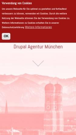 Vorschau der mobilen Webseite www.redorbit.de, RedOrbit GmbH