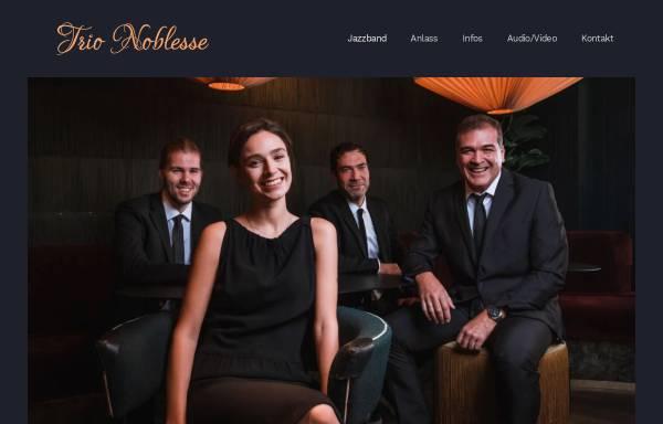 Vorschau von www.jazzband-noblesse.de, Jazzband Noblesse