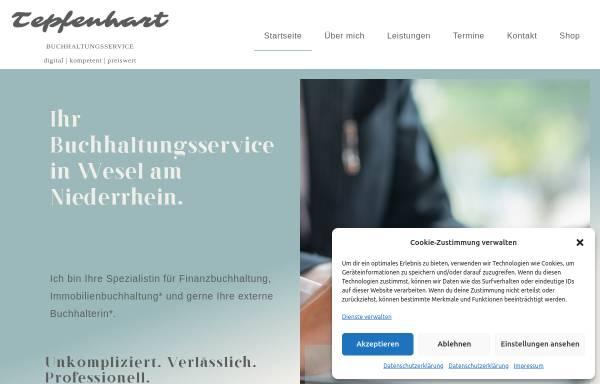 Vorschau von tepfenhart-buchhaltung.de, Tepfenhart Buchhaltungsservice