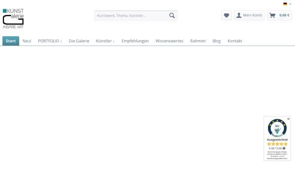 Vorschau von www.inspire-art.de, Galerie Inspire Art