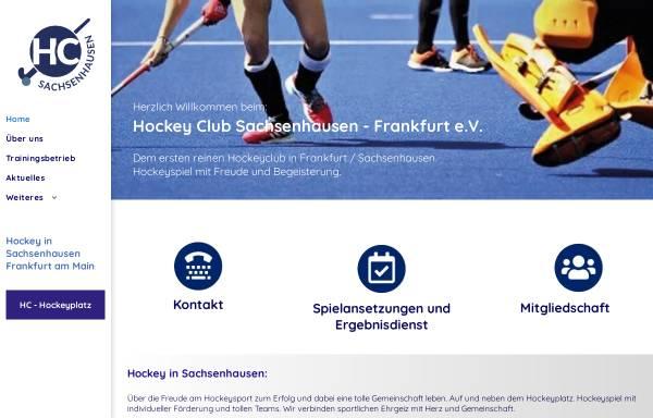 Vorschau von www.hockey-sachsenhausen.de, Hockey Club Sachsenhausen - Frankfurt e.V.
