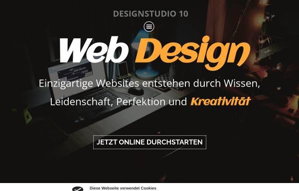 Vorschau von designstudio10.de, Designstudio 10