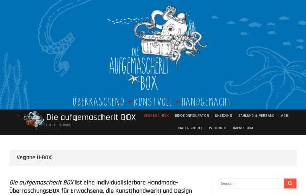 Vorschau von box.aufgemascherlt.com, Die aufgemascherlt BOX