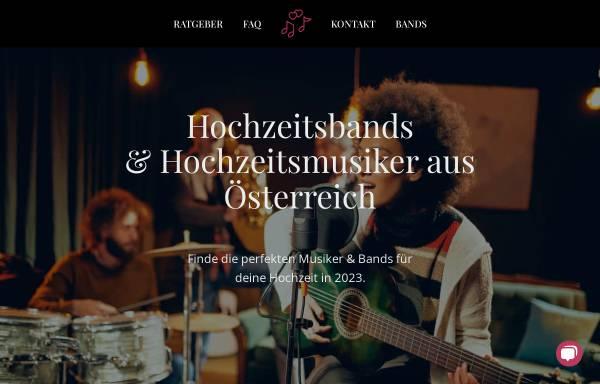 Vorschau von hochzeitsbands.info, hochzeitsbands.info
