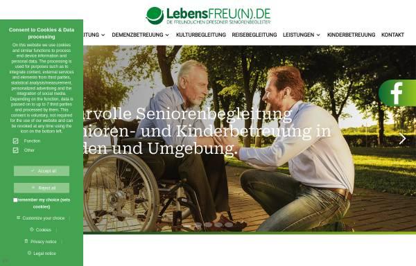 Vorschau von www.lebensfreun.de, LebensFREUNDE
