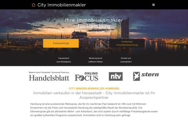 Vorschau von city-immobilienmakler-hamburg.de, City Immobilienmakler GmbH