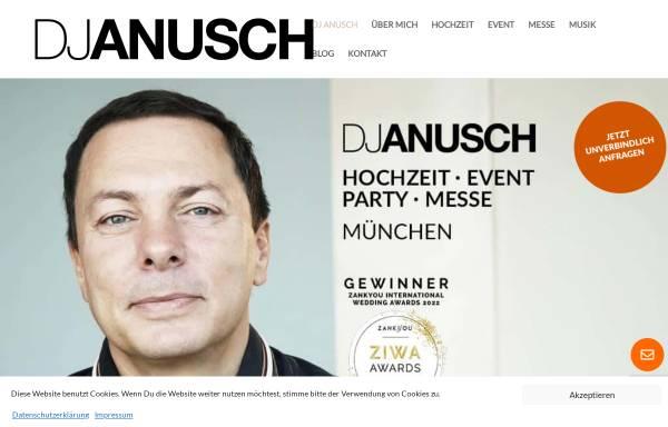 Vorschau von www.djanusch.de, DJ Anusch