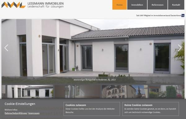 Vorschau von www.lessmann-immobilien.de, Lessmann Immobilien Hannover