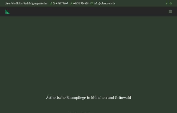 Vorschau von www.planbaum-baumpflege.de, Planbaum