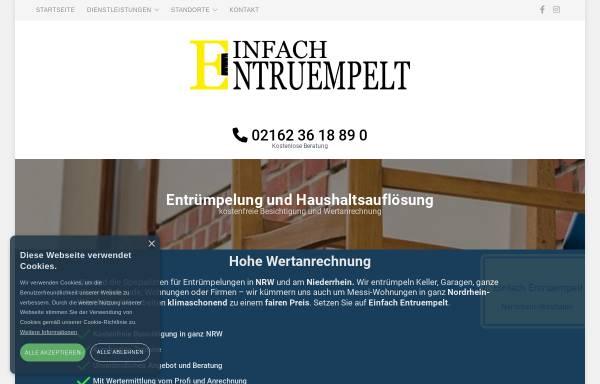 Vorschau von www.einfach-entruempelt.de, Einfach Entruempelt