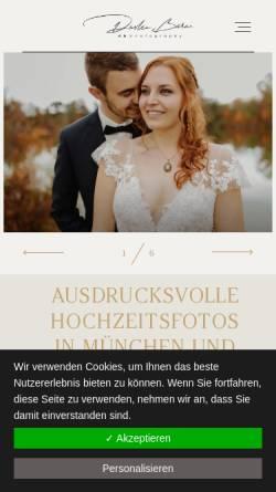 Vorschau der mobilen Webseite dbphotography.bayern, dbphotography