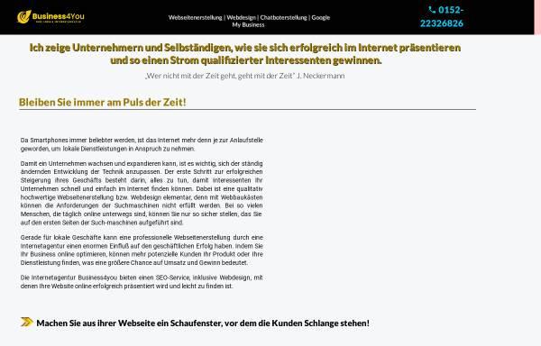 Vorschau von top-webdesign-dresden.de, business4you