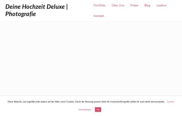 Vorschau von deinehochzeitdeluxe.de, Thomas Baldauf - Photografie