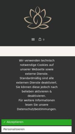 Vorschau der mobilen Webseite www.physiotherapie-panta-rhei.de, Physiotherapie Panta Rhei