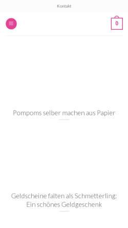 Vorschau der mobilen Webseite zaubereinlaecheln.de, Zauber ein Lächeln